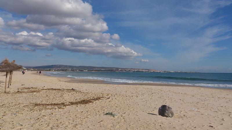 пляж в Хаммамете