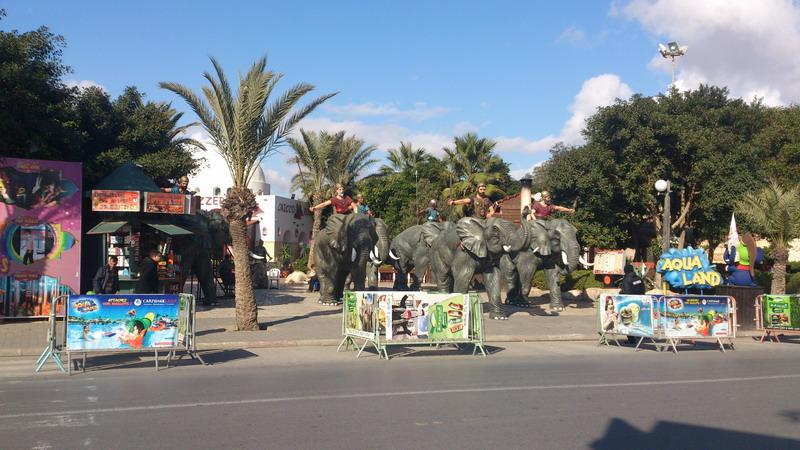 Медина - торгово-развлекательный комплекс в Хаммамете