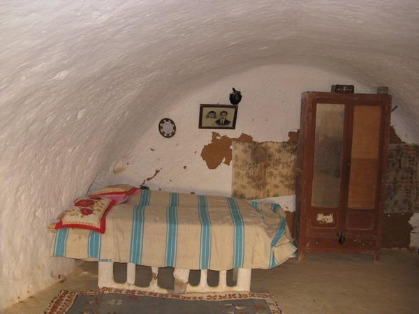 Тунис. Селение троглодитов
