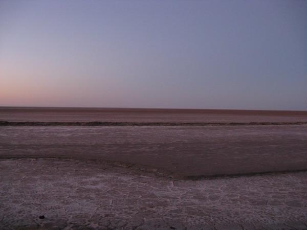 Тунис. Сахара. Шотт-Эль-Джерид