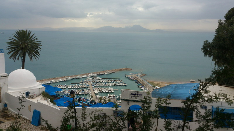 Тунис. Голубой город Сиди-Бу-Саид