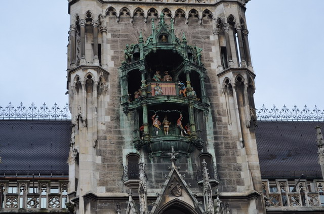 Мюнхен, часы на Ратуше