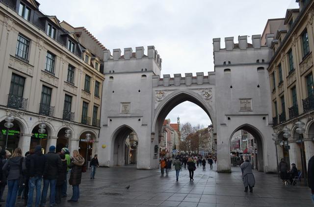 Мюнхен. Карловы ворота