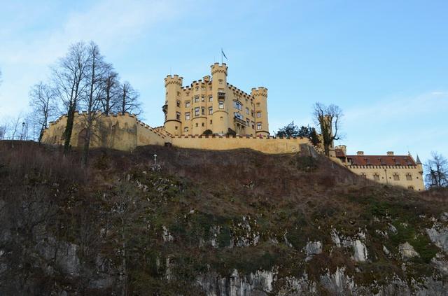 Баварские замки. Хоэншвангау
