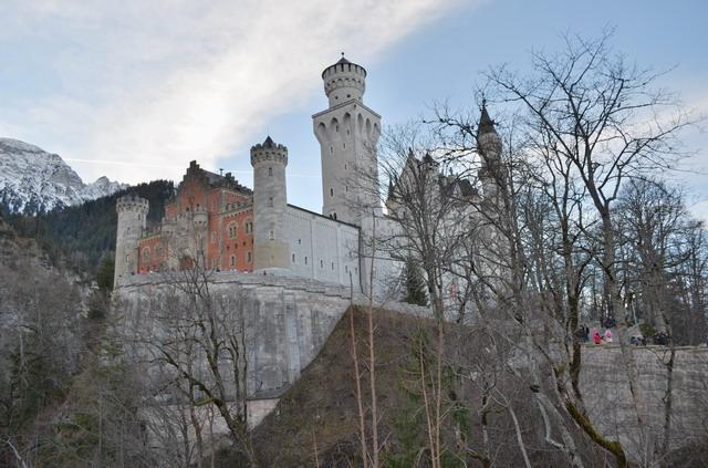 Баварские замки. Нойшванштайн в январе