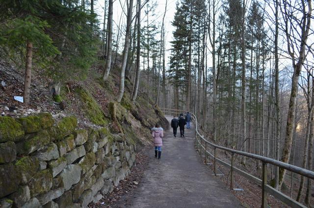 Баварские замки. Нойшванштайн, тропа