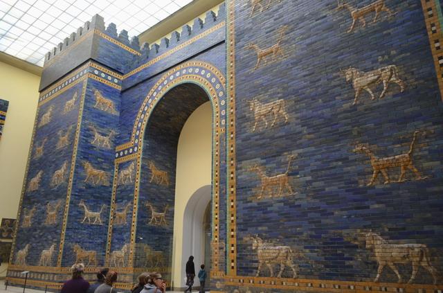 Берлин, музей Пергамон, ворота Иштар