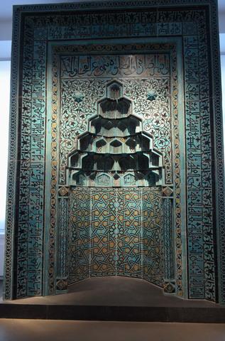 Берлин, музей Пергамон, михраб