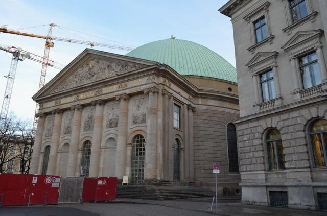 Берлин собор св. Ядвиги