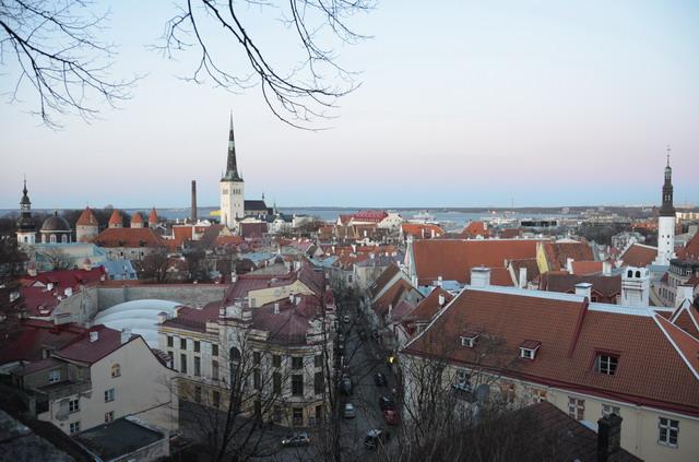Вид на Старый Таллин