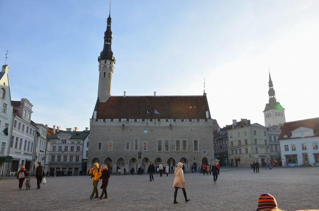 Таллин.Нижний город