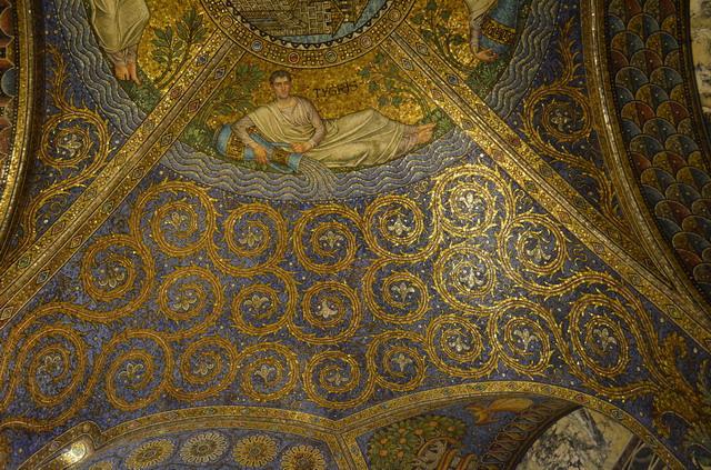 Ахен. Мозаика в соборе