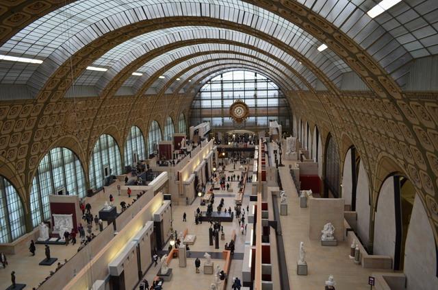 Париж. Музей дОрсе