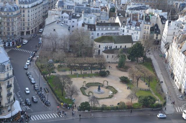 Париж.Сквер Рене Вивиани