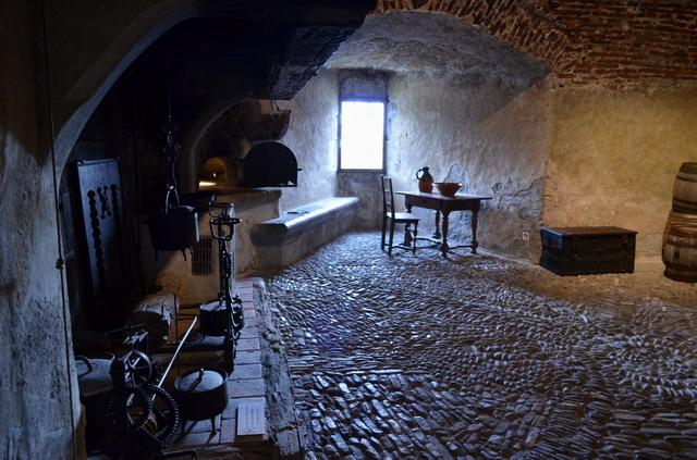 Грюйерский замок. Кухня