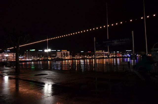 Женева. Набережная Женевского озера