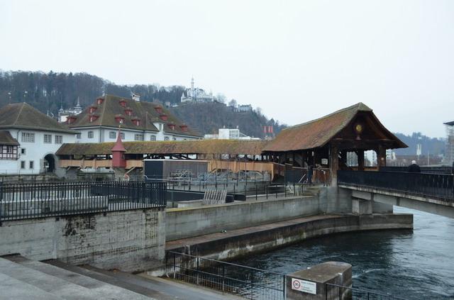 Люцерн. Мельничный мост