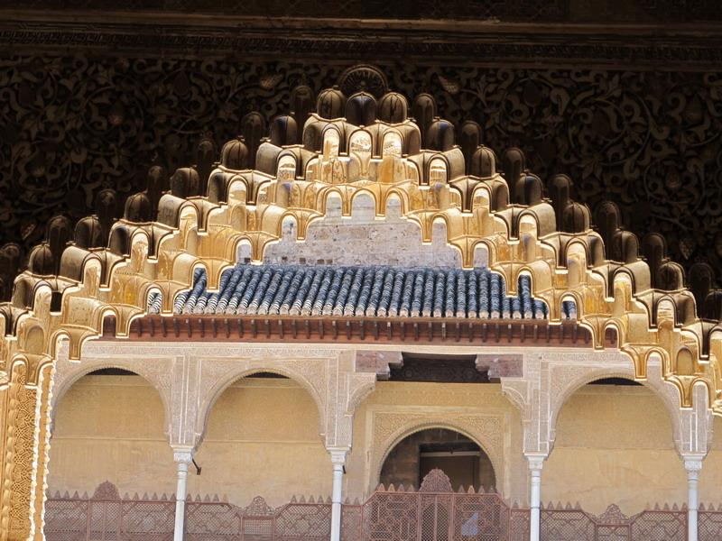 Альгамбра Львиный дворик