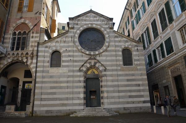 Генуя. Церковь Сан-Маттео