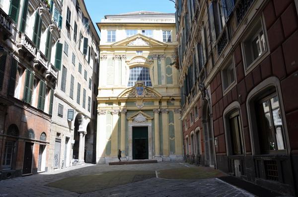 Генуя. Церковь Школы Благочестия