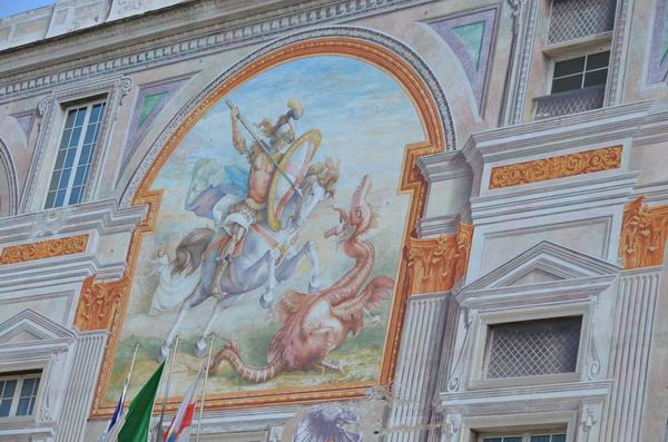Генуя. Палаццо Сан-Джорджо
