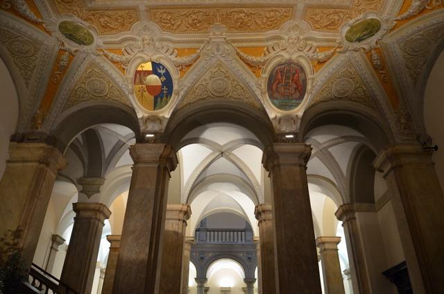 Генуя. Дворцы на виа Гарибальди