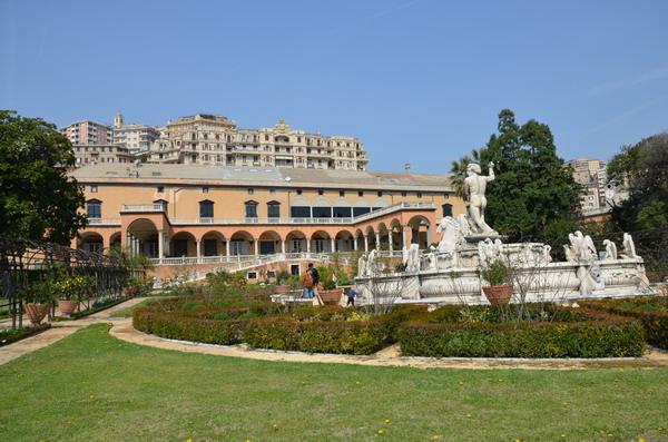 Генуя. Княжеский дворец. Сад