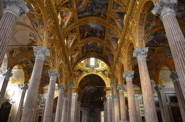 Генуя. Базилика Аннунциата