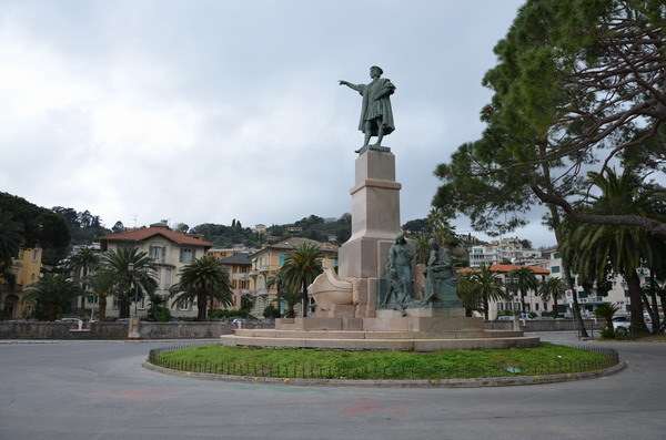 Рапалло памятник Колумбу