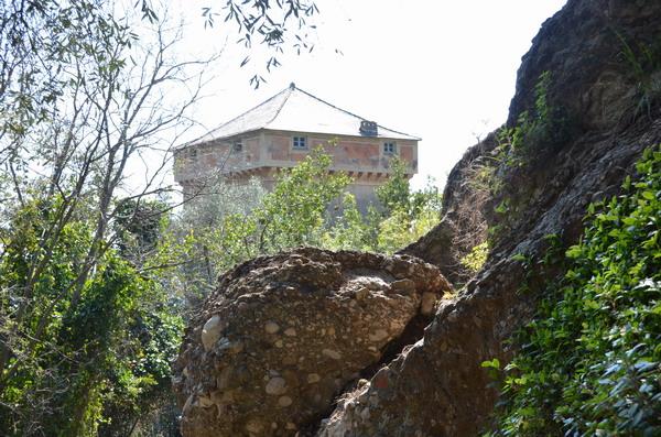 Полуостров Портофино. Башня Дориа