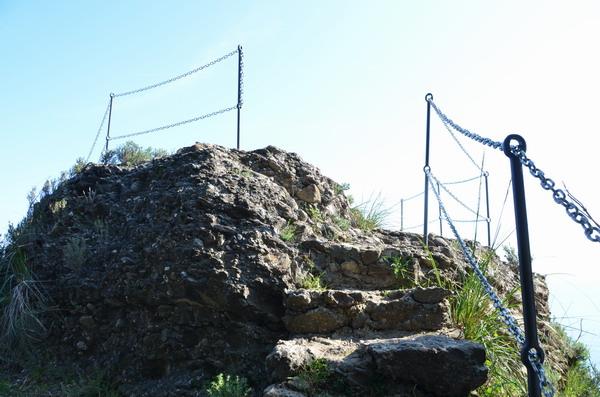 Смотровая площадка на тропе в Портофино