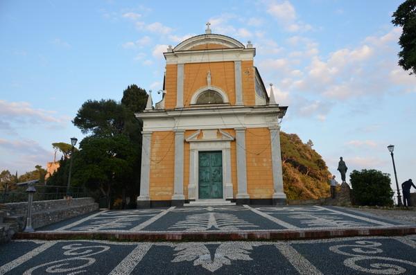Церковь в Портофино