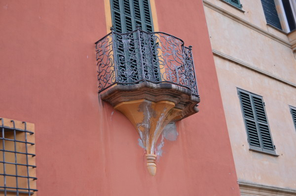 балконы в Портофино