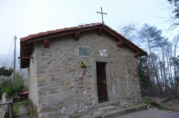 Церковь на тропе от Портовенере до Риомаджоре