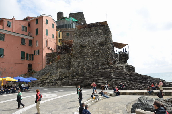 Замок в Вернацце