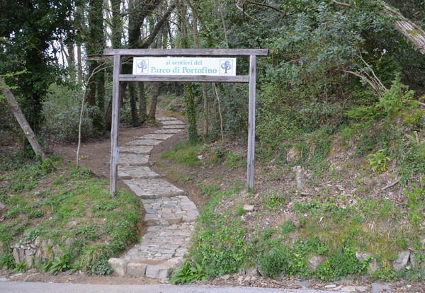 Вход в парк Портофино