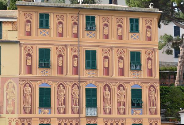 Портофино фасад дома