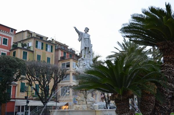 Памятник Колумбу, Санта-Маргерита Лигуре
