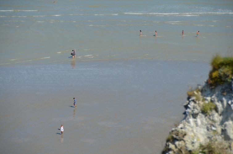 Пляж в Дьеппе