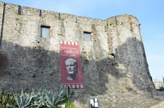 Замок Сан-Джорджо в Ла Специя