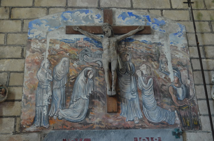 церковь Сен-Мартен внутри