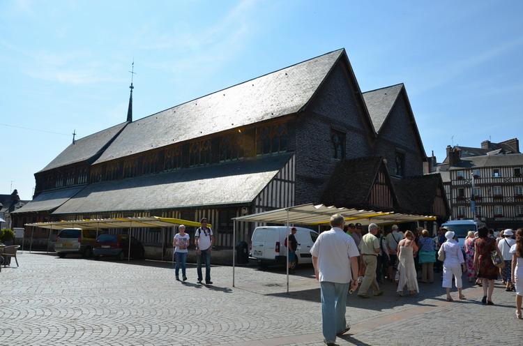 Онфлер Церковь Святой Екатерины