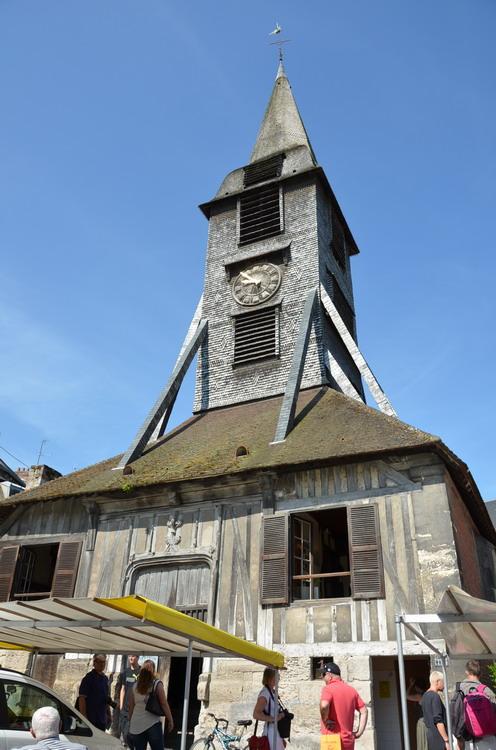 Онфлер колокольня Святой Екатерины
