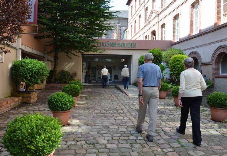 Онфлер музей Эжена Будена