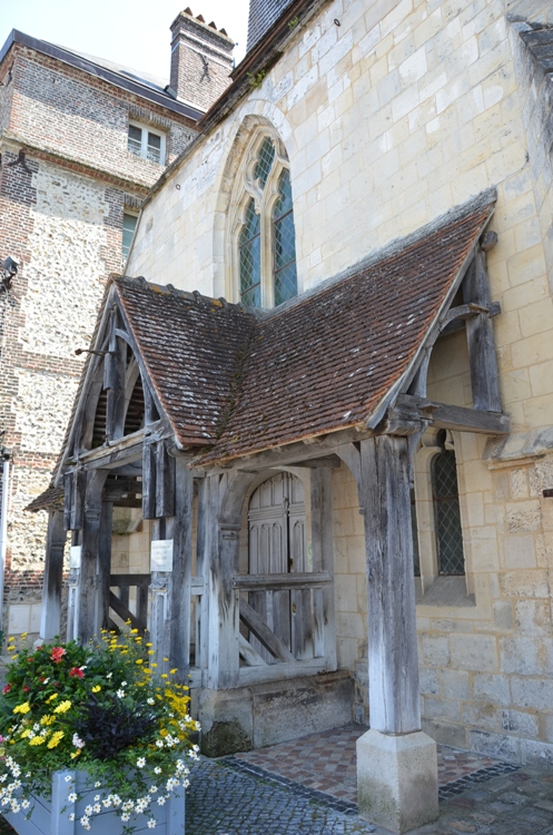 Онфлер церковь Сент-Этьенн