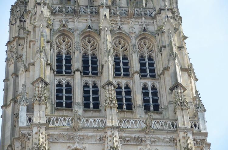 Руанский собор, Масляная башня