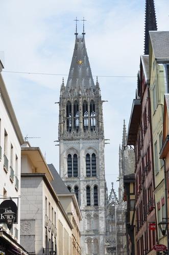 Руанский собор, башня Сен-Ромен