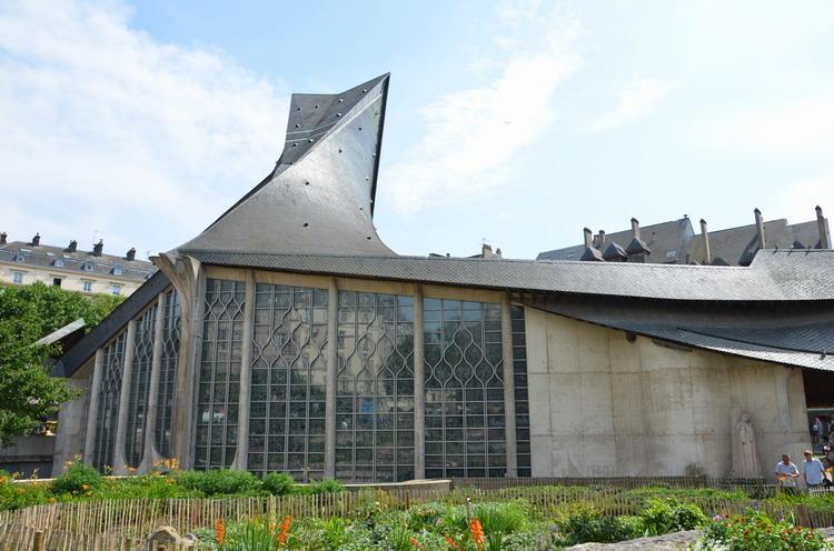 Церковь Жанны Дарк в Руане