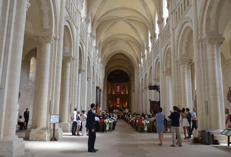 Кан, женское аббатство, церковь Тринити внутри