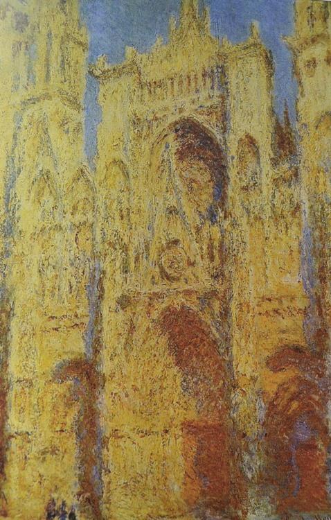 Клод Моне Руанский собор